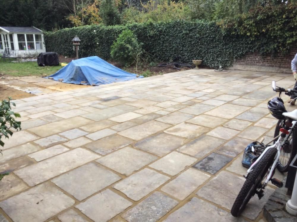 Garden landscaping services