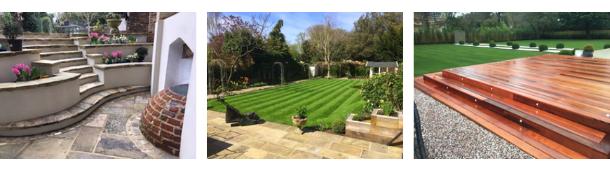 Garden landscaping services from Grass Tiger